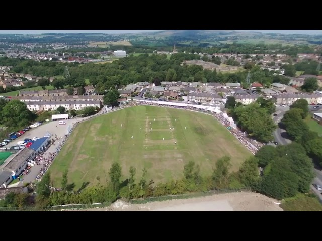 Worsley Cup Final - wicket from above!