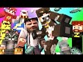 Minecraft Mini-Game : DO NOT LAUGH! (KUNG FU COW AND COOOOORAL) w/ Facecam