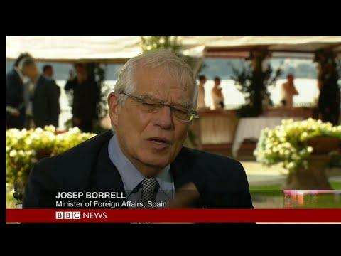 HARDtalk| Josep Borrell, Minister of Foreign Affairs, Spain
