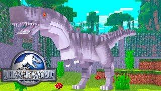 Minecraft: INDOMINUS REX ! - JURASSIC WORLD - Explorando Mods Ep.2  ‹ LOKI ›