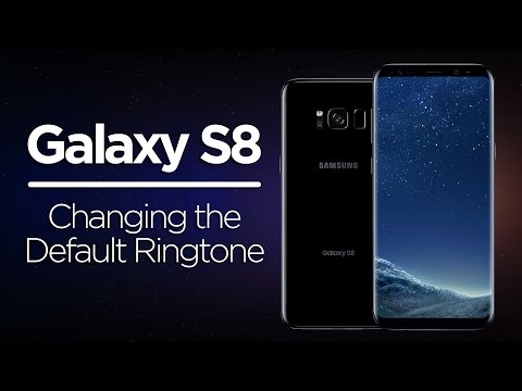 Galaxy S8 Tips - Changing the Default Ringtone