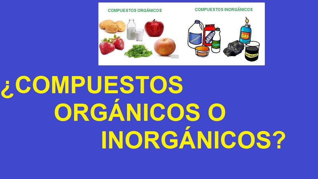 glucosa compuesto organico o inorganico