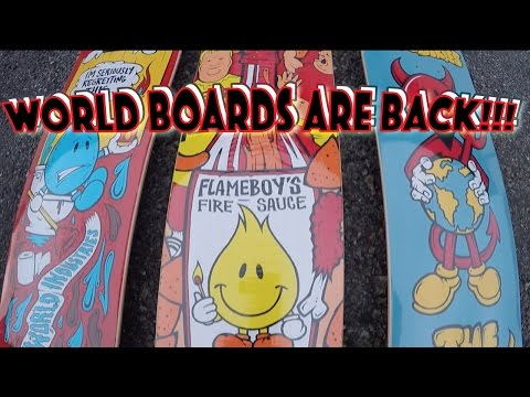 World Industries Boards are officially back!!!