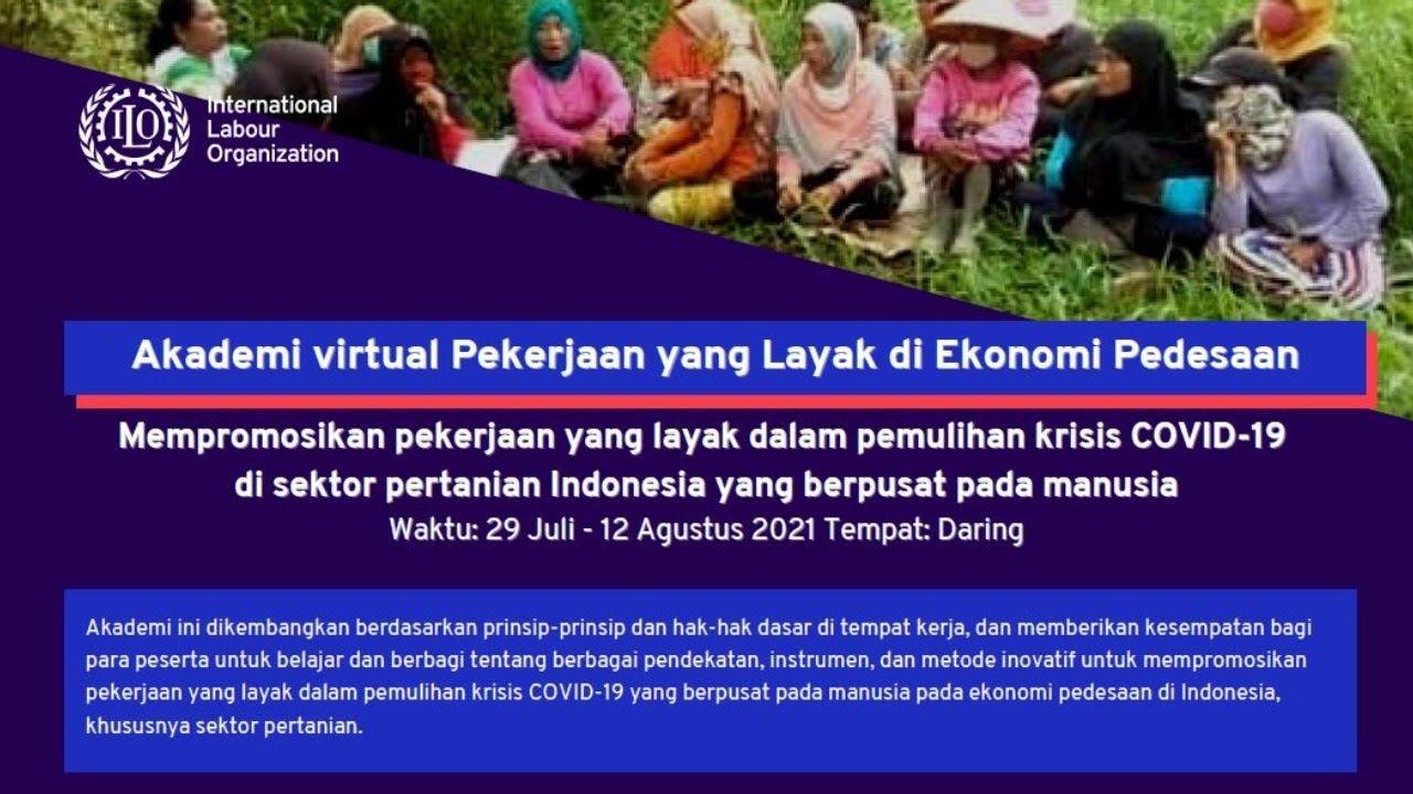 Akademi virtual Pekerjaan yang Layak di Ekonomi Pedesaan