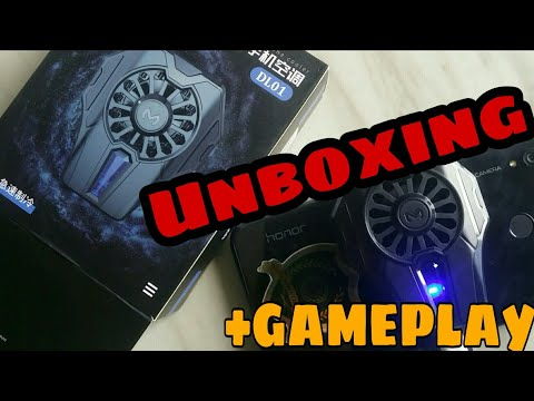 Unboxing A COOLING FAN For My PHONE | HANDCAM GAMEPLAY | PUBG MOBILE
