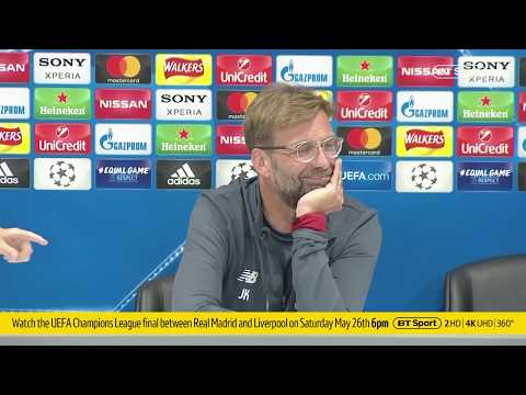 Klopp's press conference before Real Madrid vs. Liverpool: