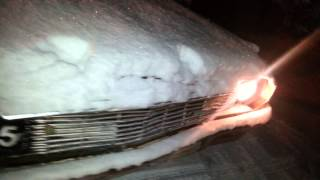 Chevrolet Bel-Air cold start -4 Fahrenheit (-20C)