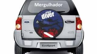 Capas para Estepe EcoSport CrossFox Pajero Tracker