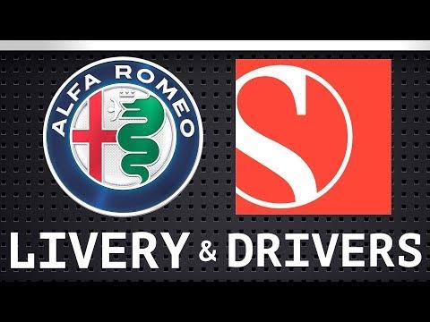 Alfa Romeo Sauber - 2018 Livery & Driver Lineup - Ferrari Threat
