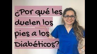 En talón debido a dolor diabetes el