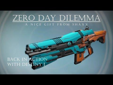 Destiny - Zero Day Dilemma - Crucible Reward Auto Rifle - Year 3 PVP Gameplay Review