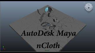 ncloth Transform   Maya