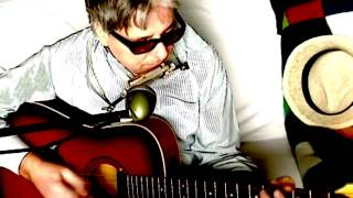 Roll Over Beethoven ~ Chuck Berry The Beatles ~ Acoustic Cover w/ Framus Texan & Harmonica