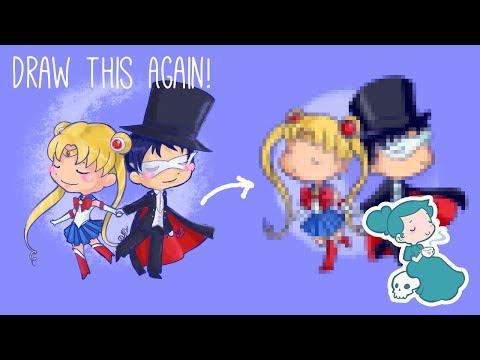 Draw This Again - Sailor Moon