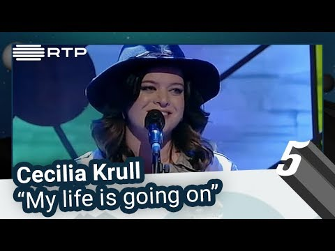 "Cecilia Krull – ""My life is going on"" 