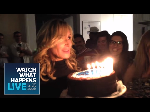 Sonja Morgan's Birthday Surprise | BEHIND THE SCENES | WWHL