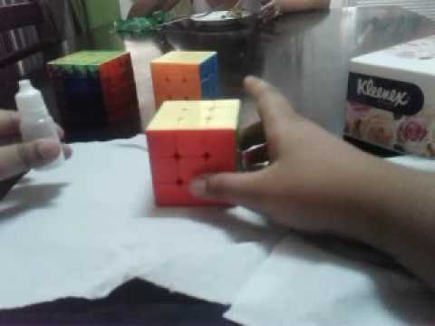 How to clean and lube your rubiks cube
