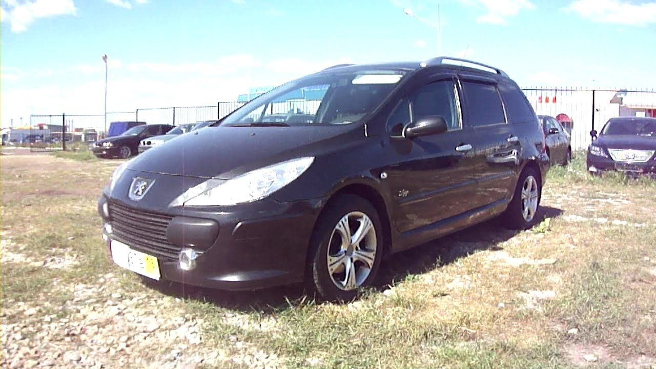 2007 Peugeot 307 Sw Start Up  Engine  And In Depth Tour