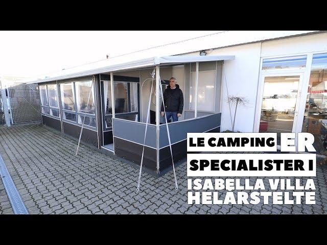 Isabella Villa fra LE Camping er det populæreste helårs fortelt
