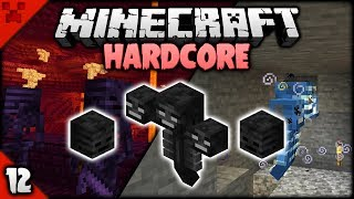 SKULL Hunting & WITHER SPEEDKILL! | Minecraft HARDCORE Survival Let's Play | Episode 12