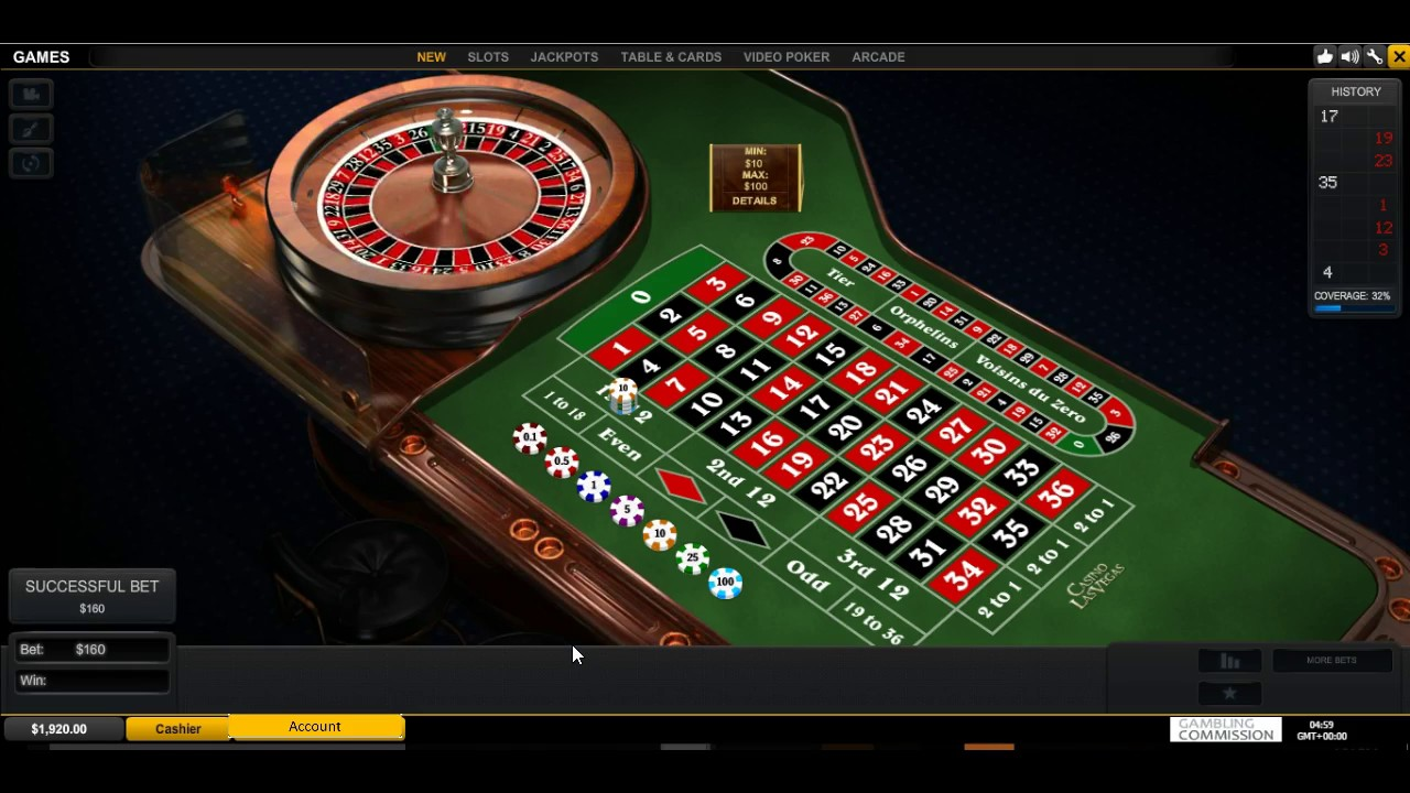 Roulette Table Image