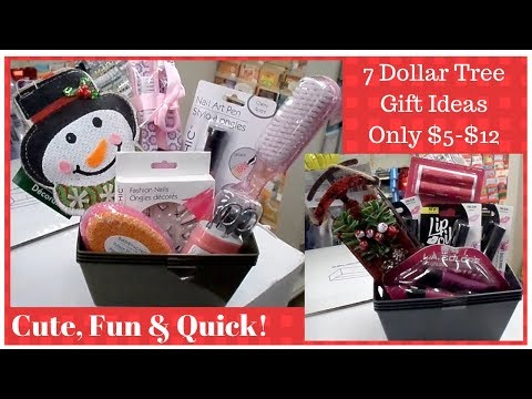 7 Dollar Tree Gift Ideas - Only $5 - $12