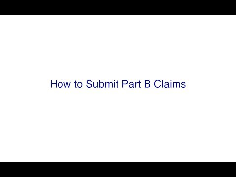 NGSConnex: How to Submit Part B Claims
