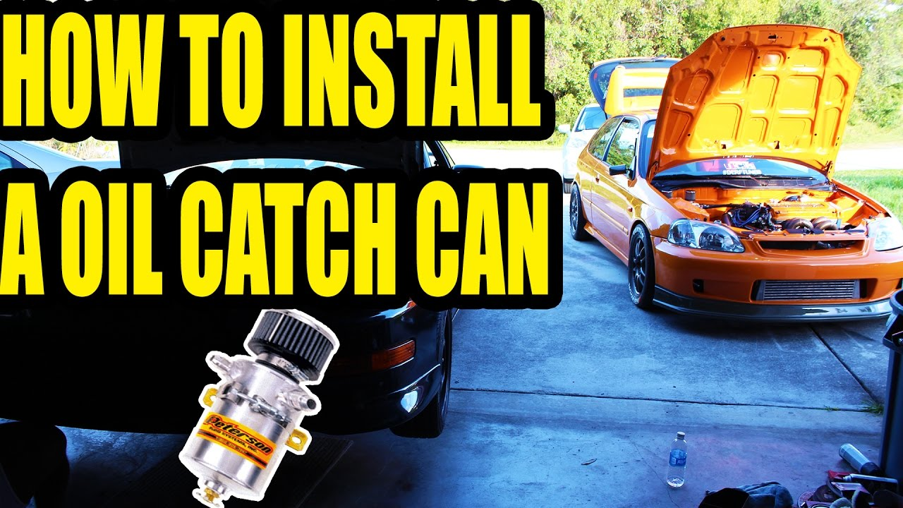 oil catch can hook up 1hz blow by post turbo  a dessert spoon of oil condensing in the catch can after  to the combustion chamber and also as they move up and down in the head .