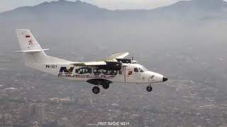 Video FIRST FLIGHT N219 full take off, view from the sky and landing download MP3, 3GP, MP4, WEBM, AVI, FLV Agustus 2018