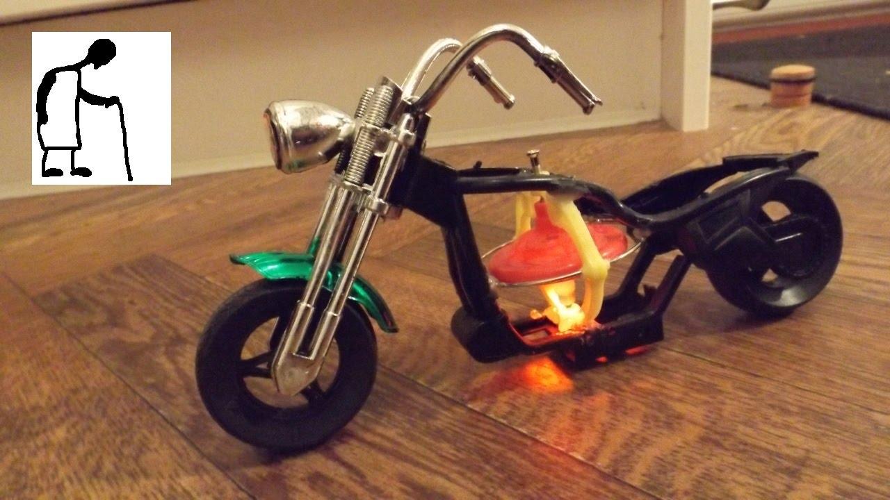 Gyro Stabilised Motorbike Toy - FAIL