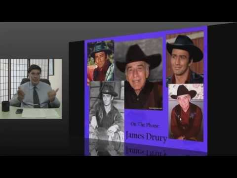 James Drury (The Virginian) Interview on CT Morning
