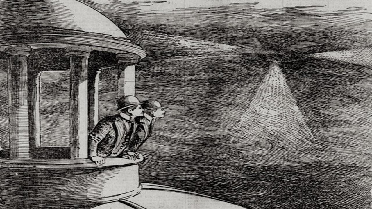 Masowe obserwacje UFO z1896 i1897 r.