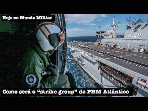 Como será o strike group do PHM Atlântico