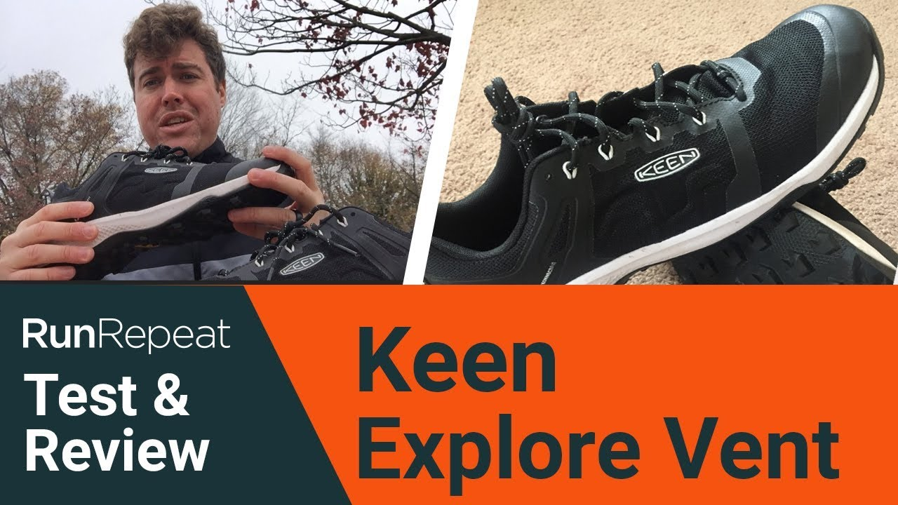Keen Explore Vent test & review - A lightweight distance hiking shoes