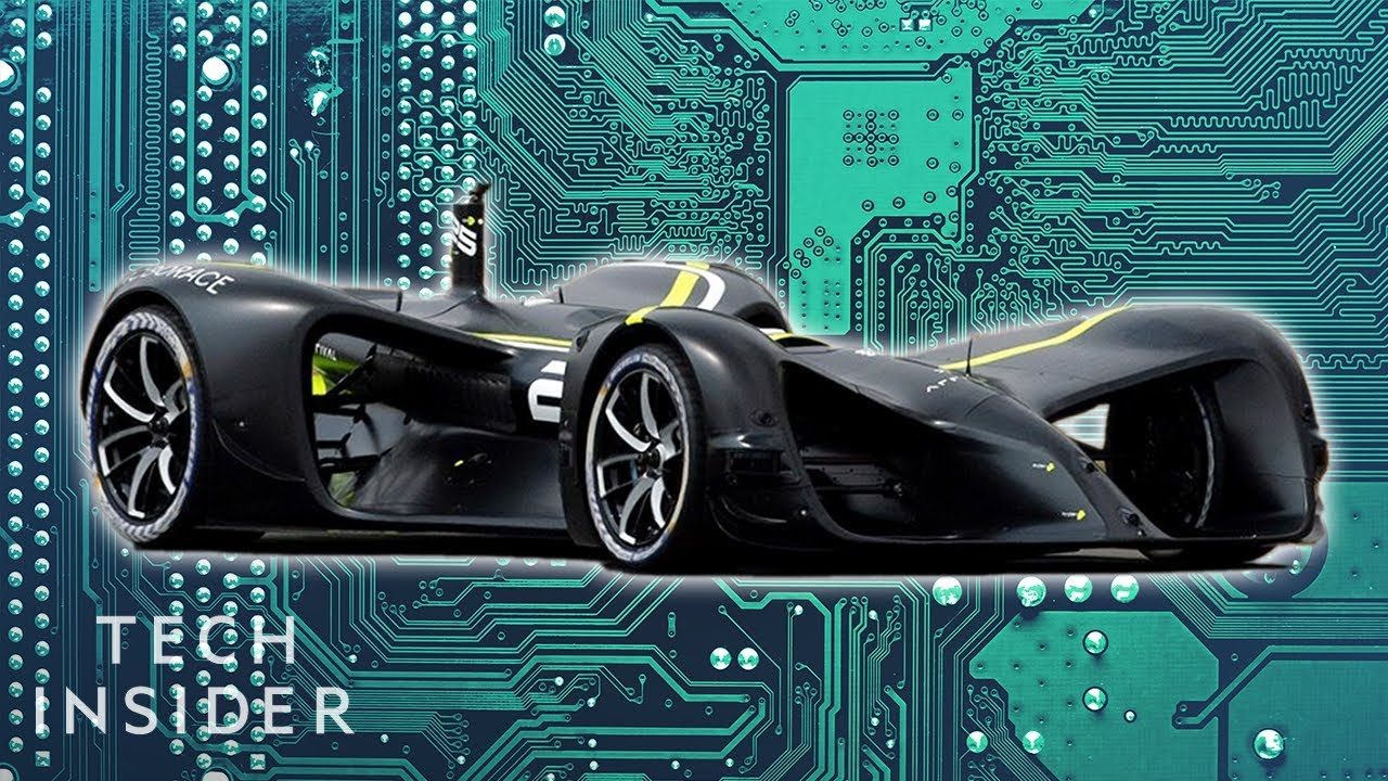 Inside The First-Ever Self-Driving Race Cars