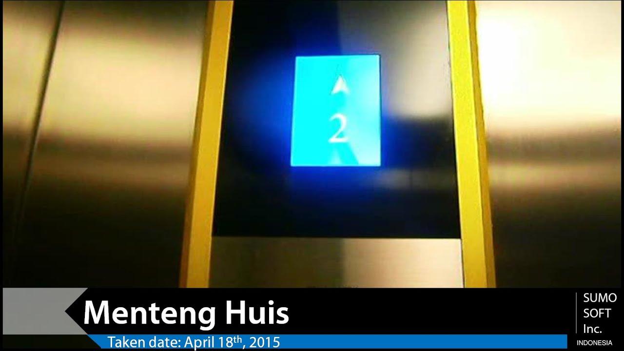 Lift In Huis : Fujita lift at menteng huis jakarta retake 1 youtube