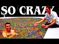 Pool Full Of Orbeez Experiments! video