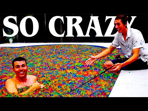 Thumbnail: Pool full of Orbeez Experiments!