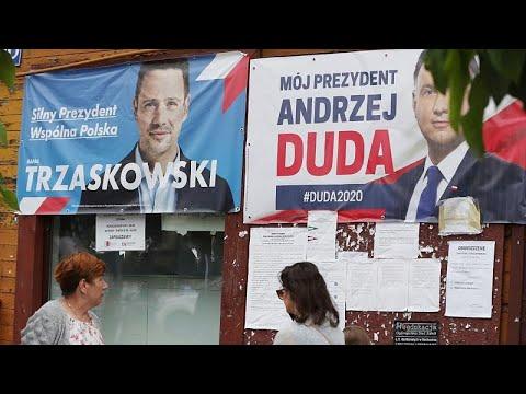 شاهد: بدء التصويت في الدورة الثانية من الانتخابات الرئاسية البولندية …  - نشر قبل 5 ساعة