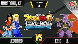 Dragon Ball Super Card Game Gameplay [DBS TCG] Hartford Regional Round 8