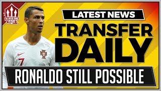 Ronaldo Transfer Saga Continues! Man Utd Transfer News