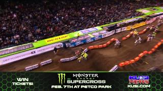 Supercross at Petco Park