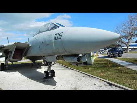F-14D Static Display at Lakeland Aviation Museum, Florida