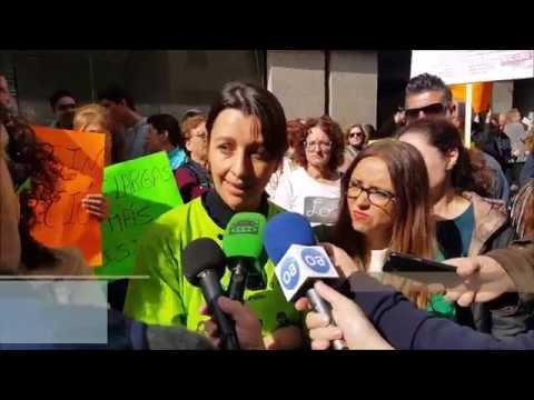 #ALGECIRAS Los padres del Virgen de la Esperanza reclaman un colegio digno