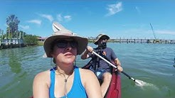 Kayaking in St. Augustine, Florida for a Conch House Lunch.