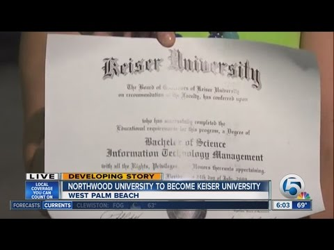Northwood University in West Palm Beach to become Keiser University