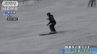 愛子さま 静養先の長野でスキー楽しまれる(19/04/20) thumbnail