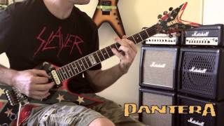 Pantera - War Nerve Guitar Cover