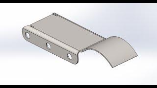 Solidworks.Деталь из листового металла