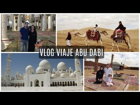 VLOG VACACIONES EN ABU DABI | SAFARI EN EL DESIERTO | CONOCIENDO LA MEZQUITA | Emirates Palace